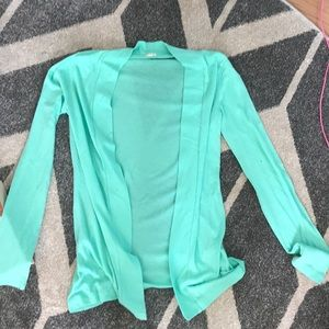 Mint green J.Crew sweater